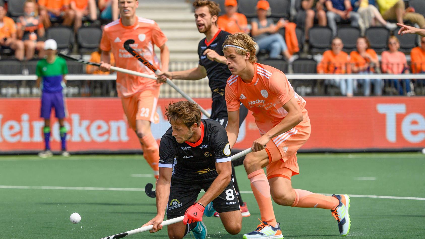 Hollands Hockey-Herren bezwingen Deutschland in EM-Finale.