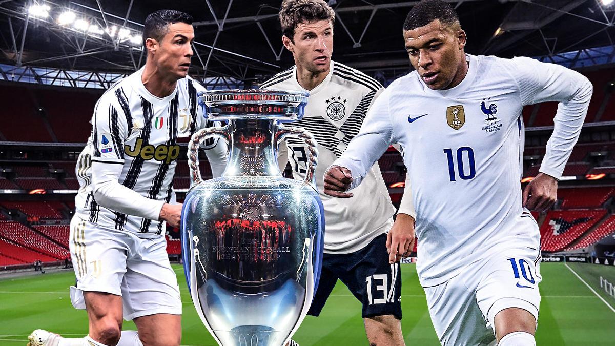 Alle wollen ihn, nur einer wird ihn kriegen: Den EM-Pokal