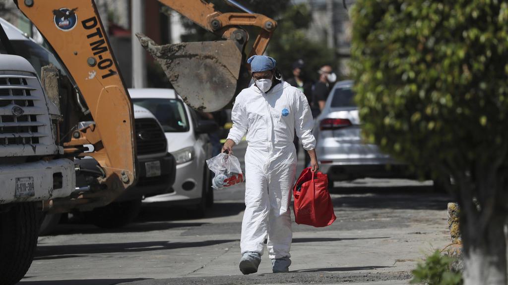 Forensiker graben in Mörder-Haus in Mexiko