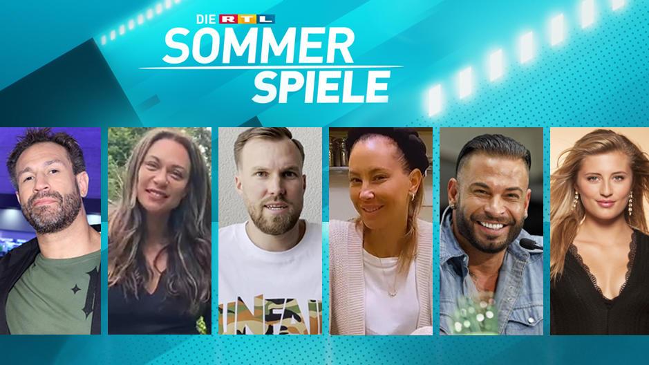 """Bei """"Die RTL Sommerspiele"""" sind unter anderem Evil Jared, Lilly Becker, Kevin Großkreutz, Alessandra Meyer-Wölden, Tim Wiese und Luna Schweiger als Promis mit dabei."""