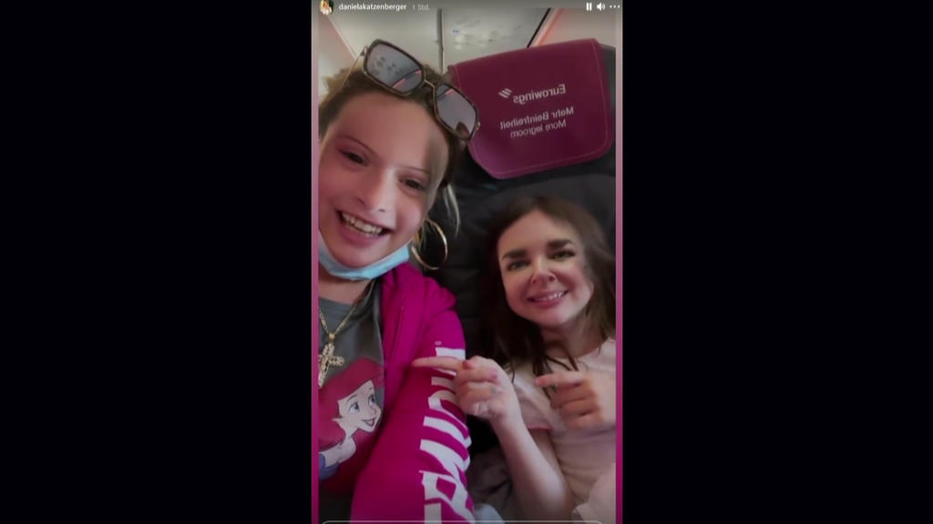 Daniela Katzenberger und Töchterchen Sophia kriegen sich nicht mehr ein: Dieser Filter hat's wirklich in sich!