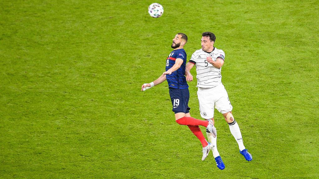 Karim Benzema  19 - France  - M Hummels  Allemagne  - FOOTBALL : France vs Allemagne - Munich - 15/06/2021 FedericoPestellini/Panoramic PUBLICATIONxNOTxINxFRAxITAxBEL