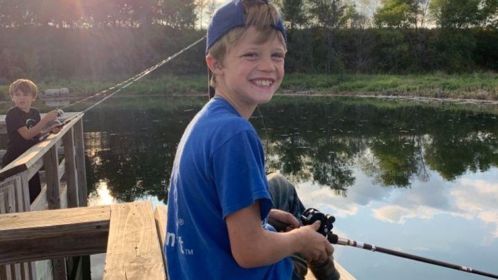 Ricky Lee Sneve (10) starb, als er das Leben seiner jüngeren Schwester rettete