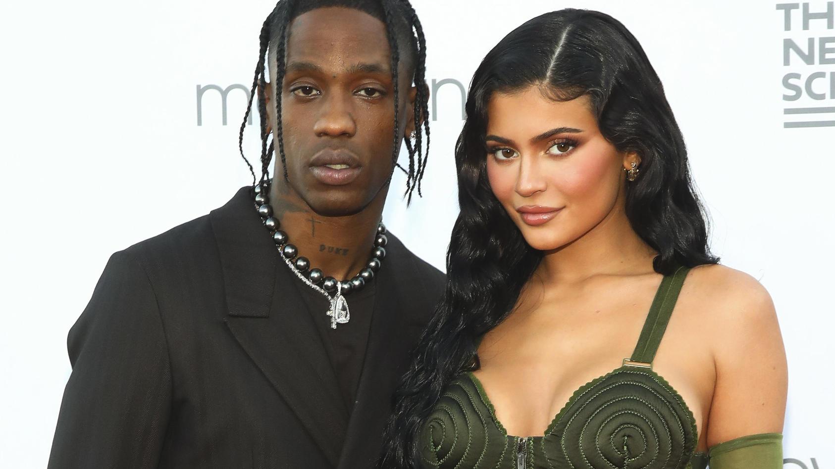 Travis Scott und Kylie Jenner wieder vereint auf dem roten Teppich.