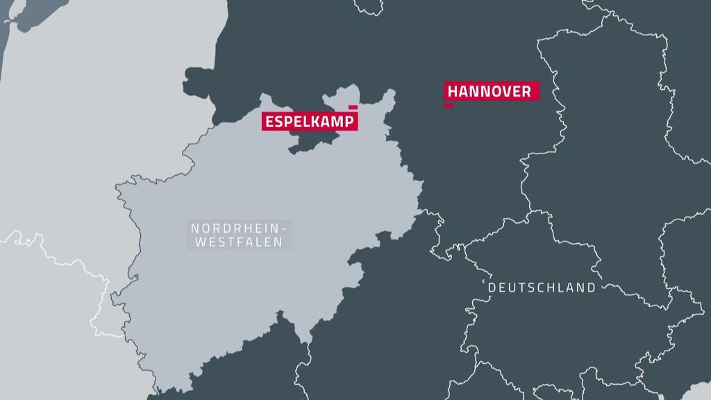 Espelkamp: 2 Menschen tot nach Schüssen - Polizei im Einsatz