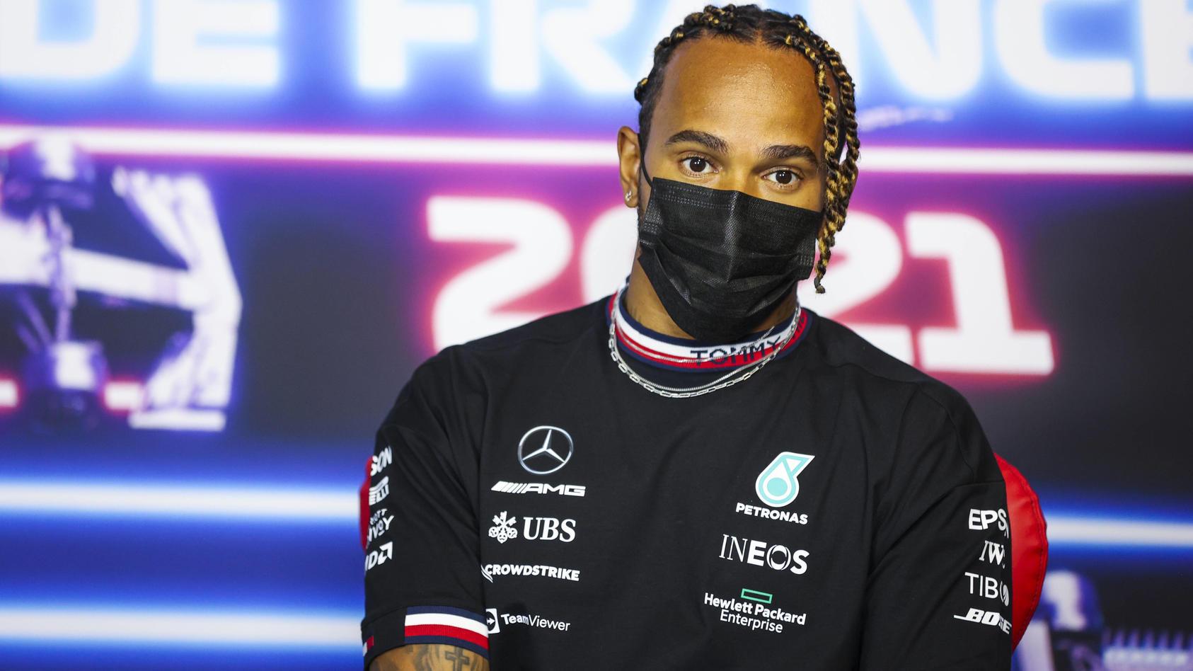 Ungewohnt: Lewis Hamilton liegt in der WM derzeit nur auf 2.
