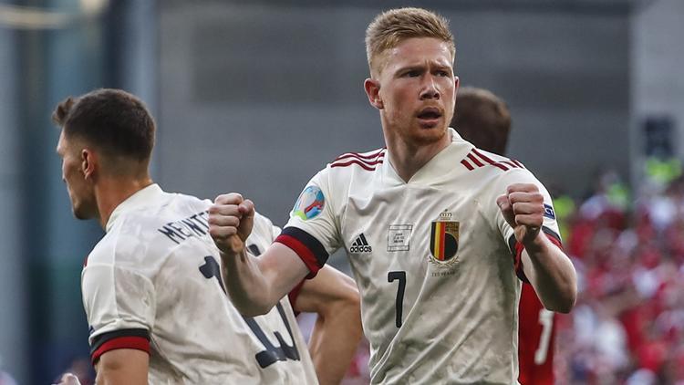 Sieg gegen Dänemark - De Bruyne lässt Belgien jubeln