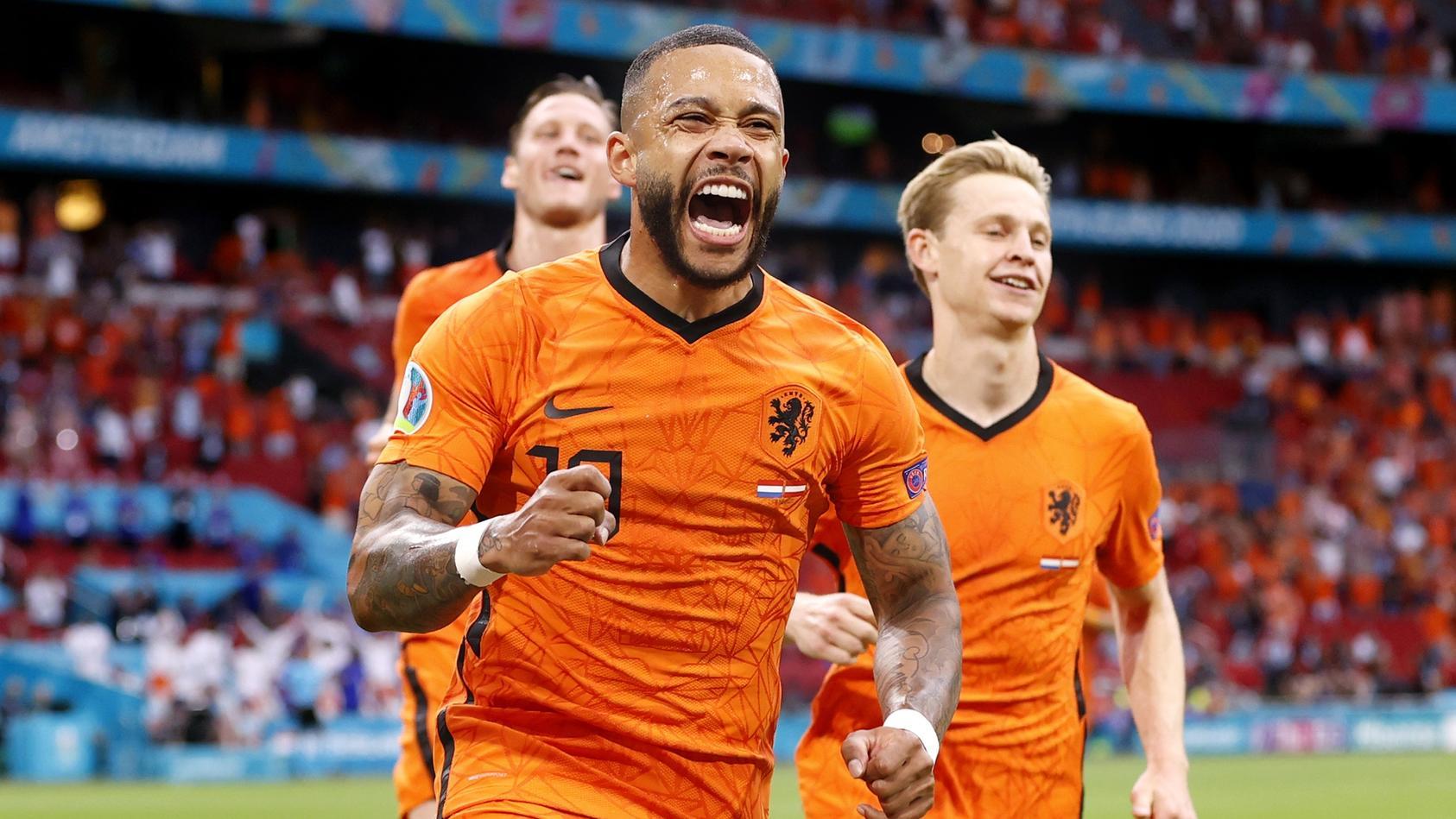 Die Niederlande feiern einen souveränen Sieg gegen Österreich.