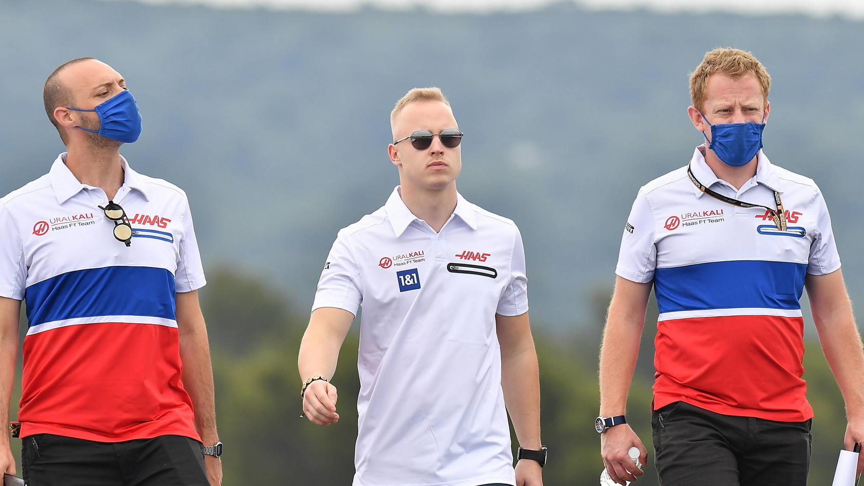 Nikita Mazepin vor dem Frankreich-GP
