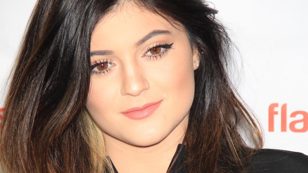Kylie Jenner mit 16.