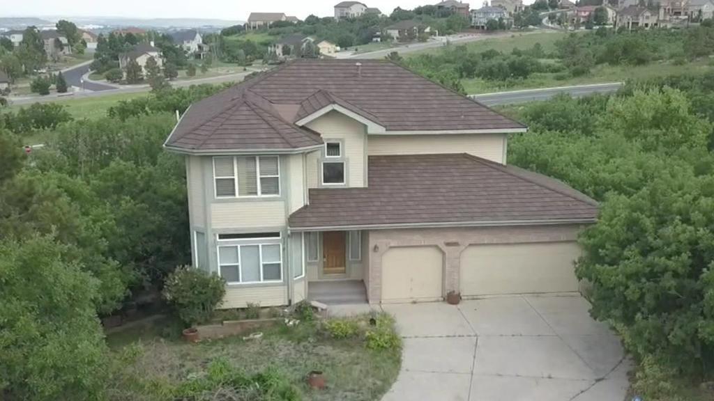 Verwüstetes Haus in Colorado