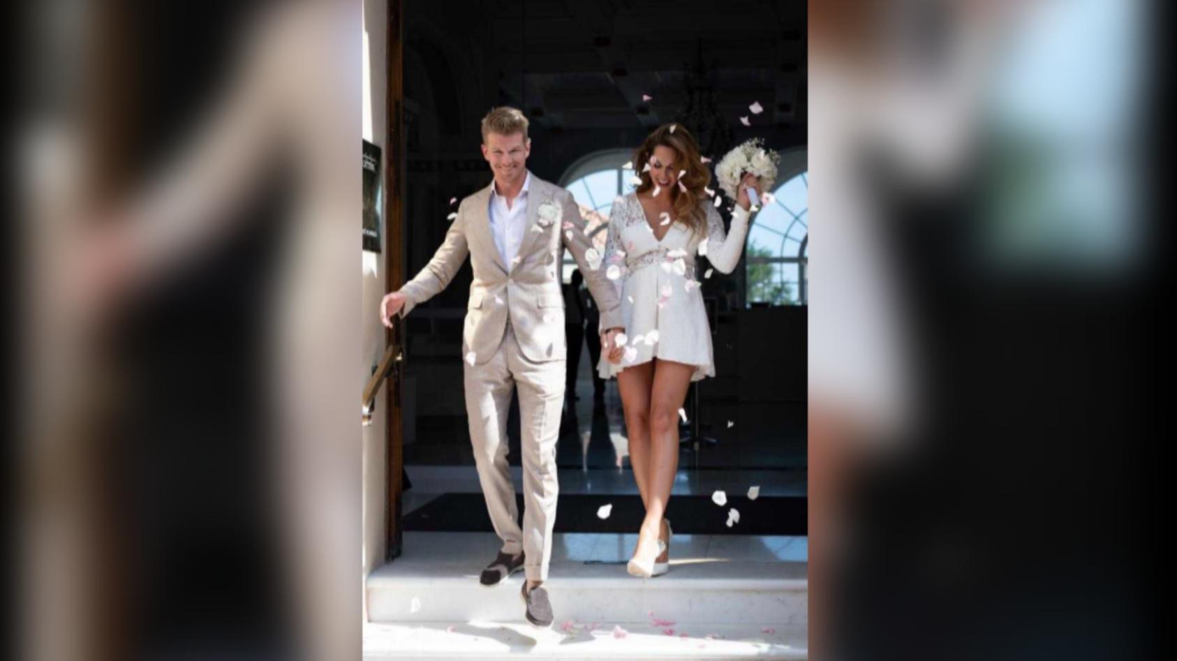 Nico Hülkenberg hat seine Egle vor wenigen geheiratet, bald werden sie auch schon Eltern.