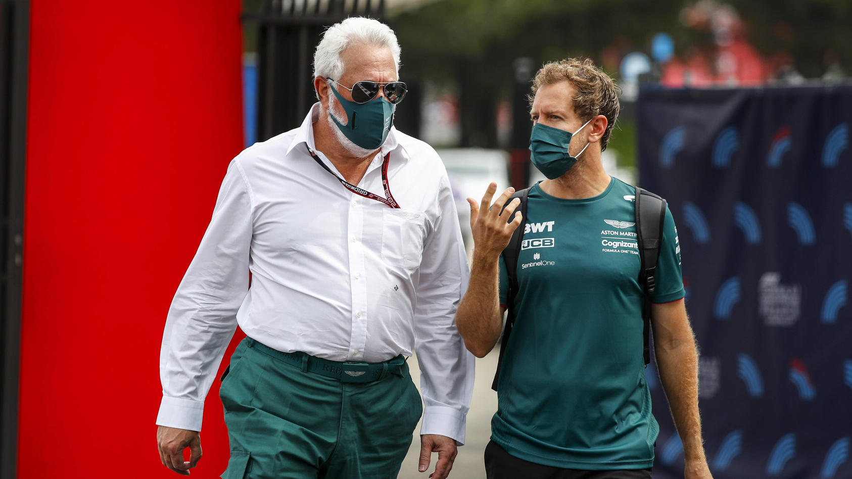 """Aston-Martin-Boss Stroll - Vettel hoffentlich """"für immer"""" bei uns"""