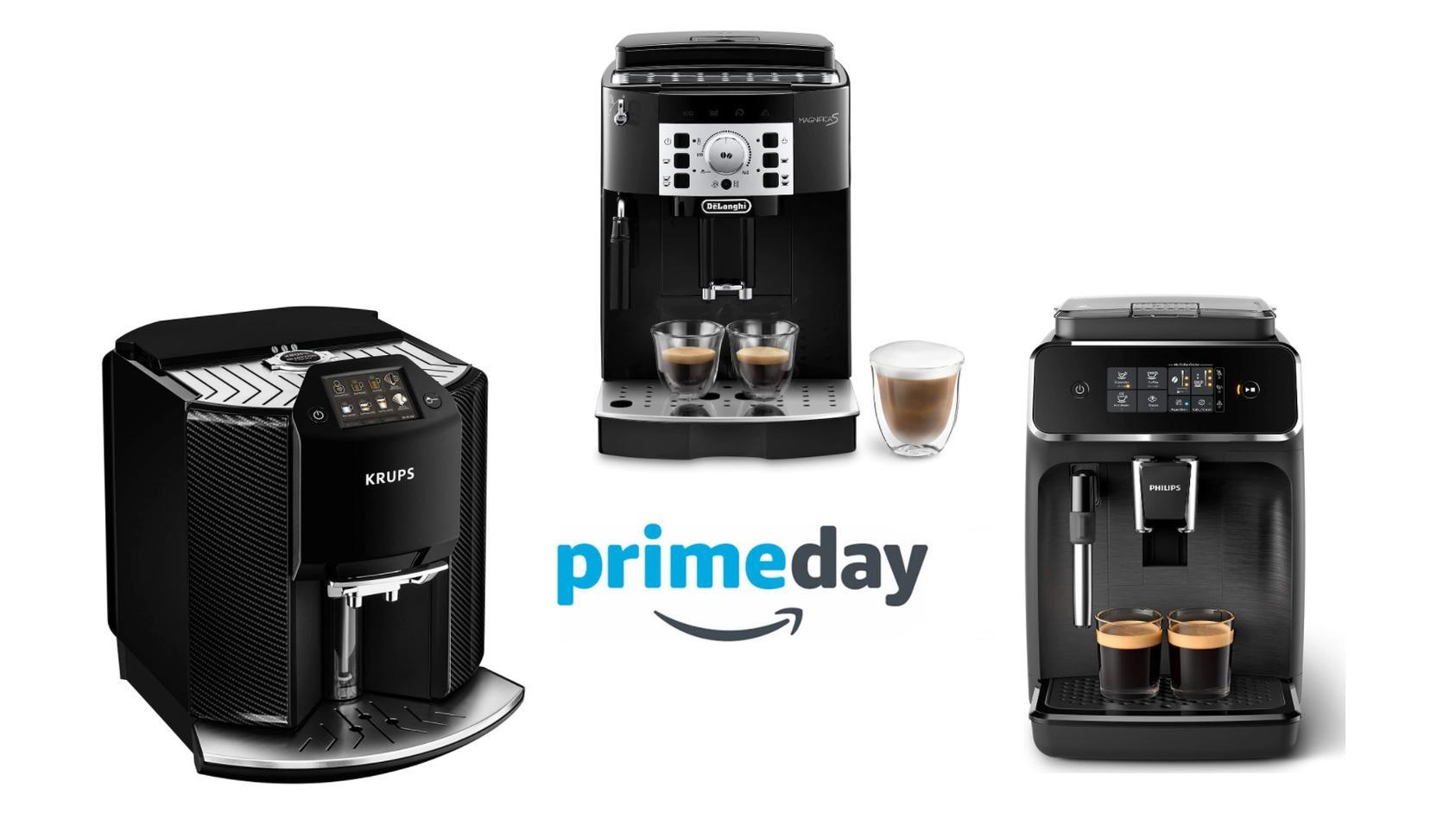 Am Amazon Prime Day 2021 winken Rabatte auf Kaffeeautomaten.