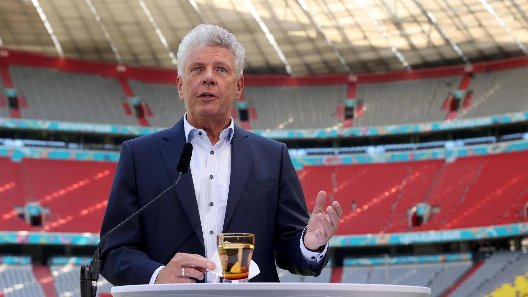 Münchens Oberbürgermeister Dieter Reiter ist sauer.