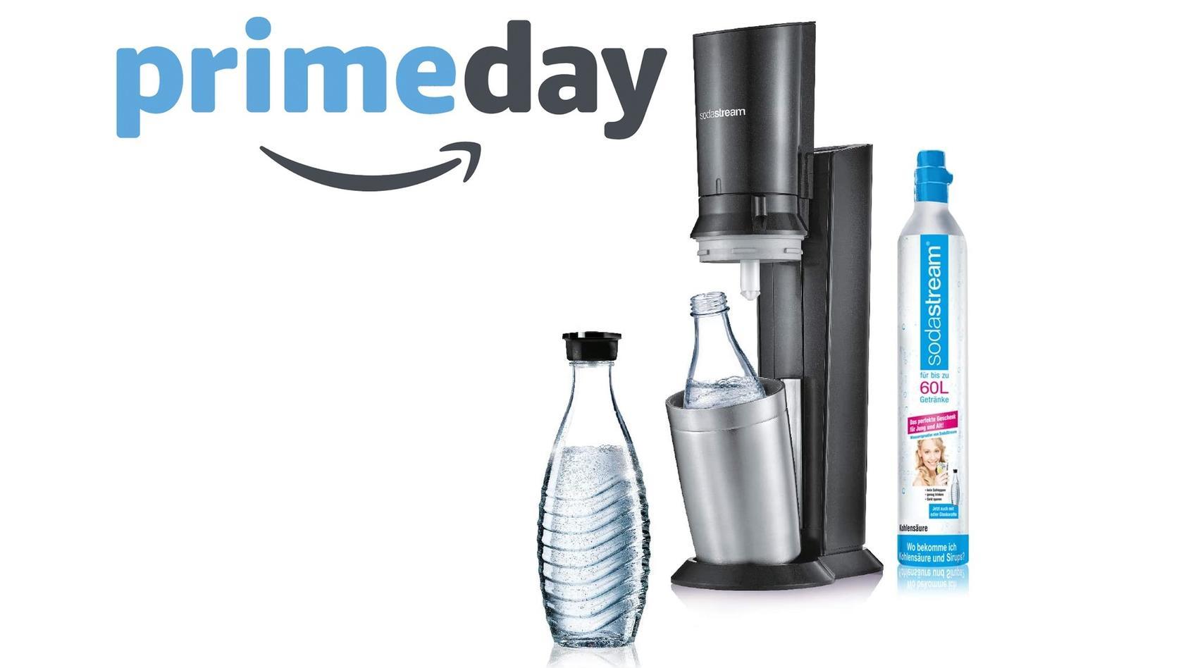SodaStream für weniger als 100 Euro: Der Amazon Prime Day 2021 macht es möglich