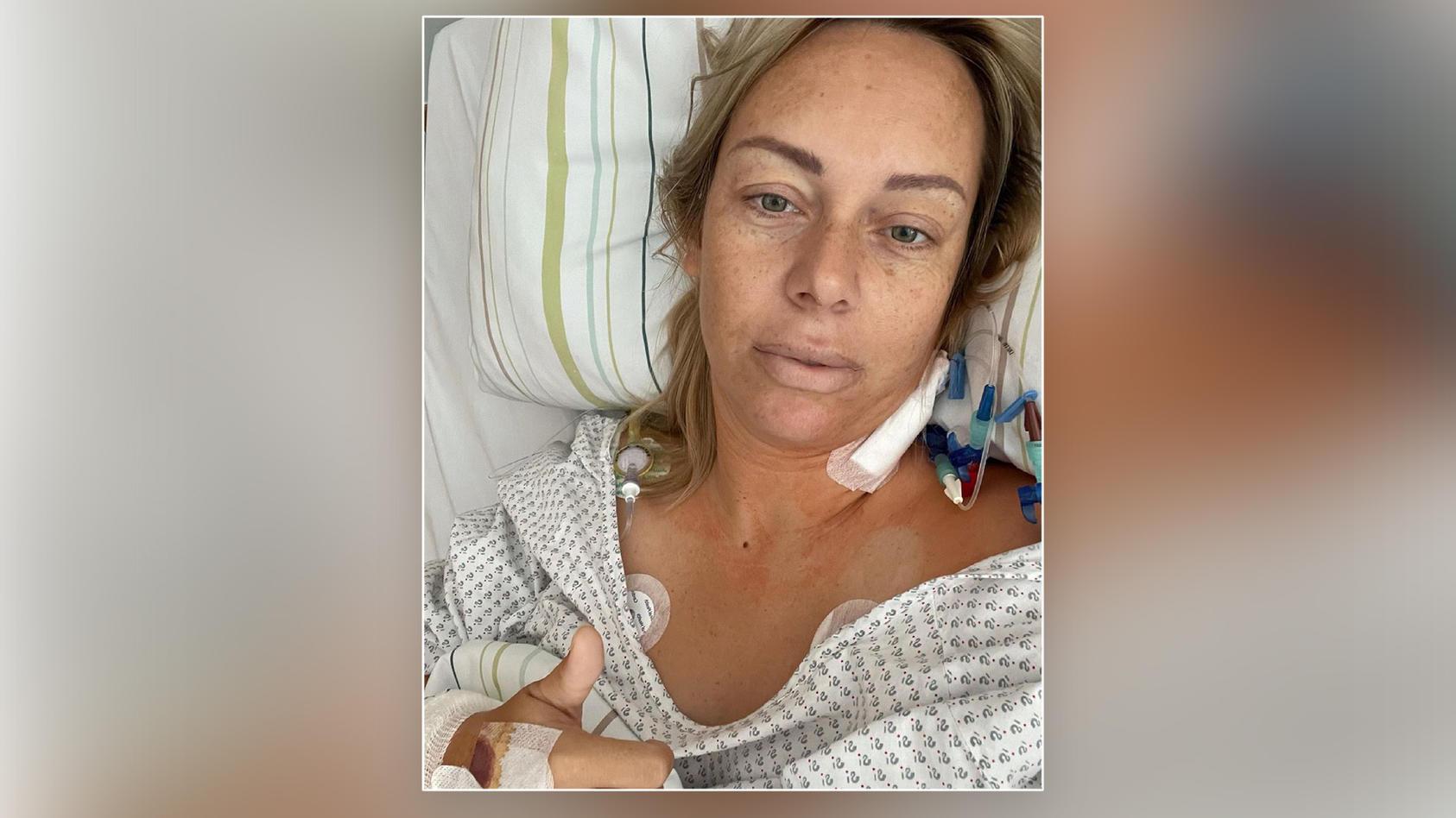 Julia Holz gibt ein Update aus dem Krankenhaus