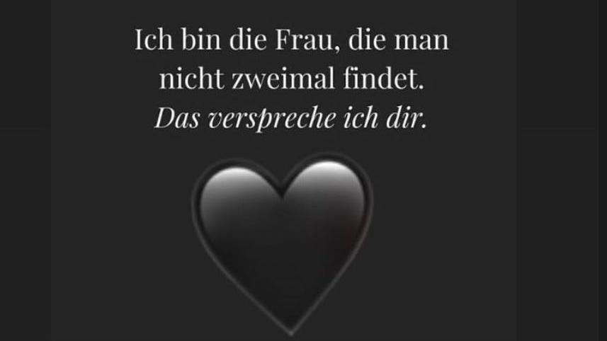 Danni Büchner postet schwarzes Herz: Meint sie mit diesem Spruch ihren Ex?