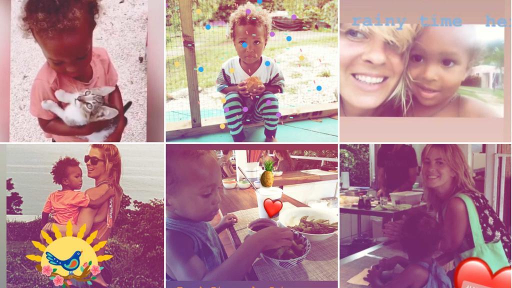 Jasmin Tawil zeigt via Instagram neue Bilder ihres Sohnes Ocean Malik