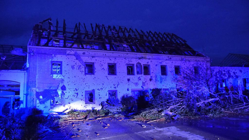 Das Dorf Hrusky wurde von dem Tornado besonders schwer getroffen.