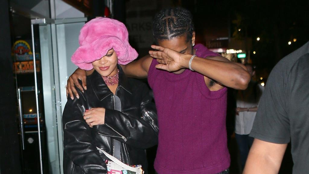 Rihanna and A$AP Rocky in New York