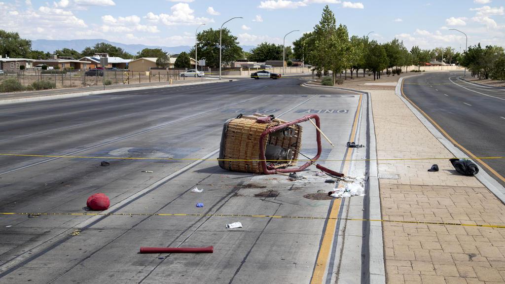 Accidente de globo aerostático en Nuevo México