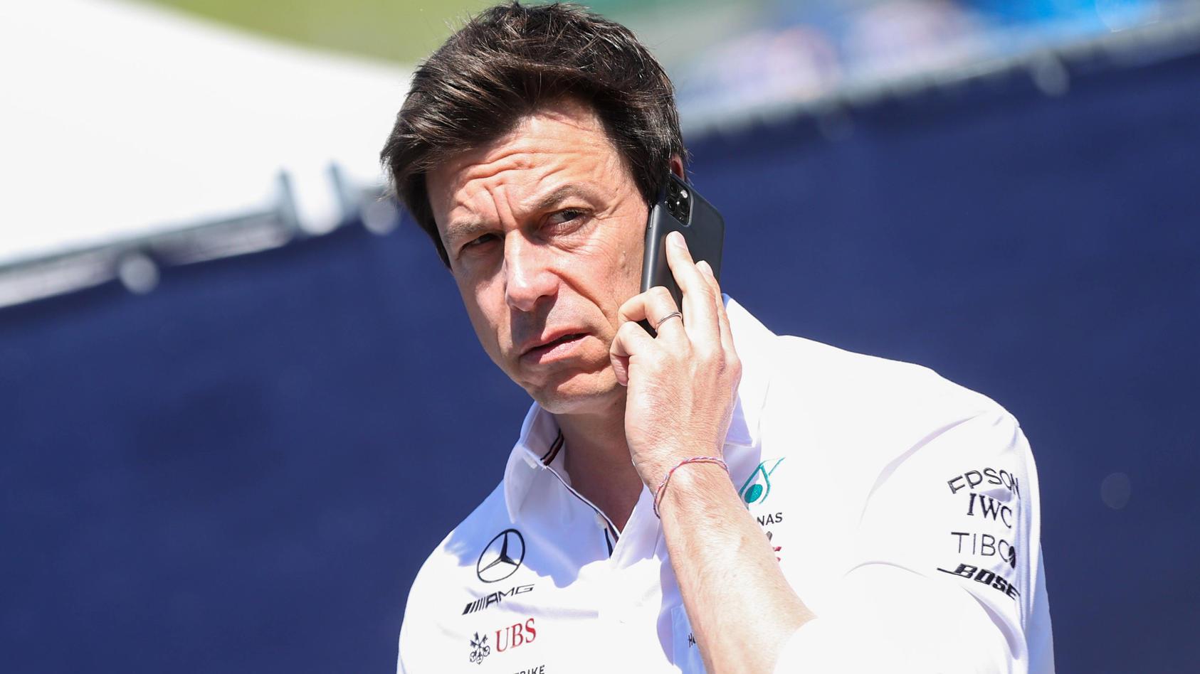 Toto Wolff hatte in Monza nichts zu lachen