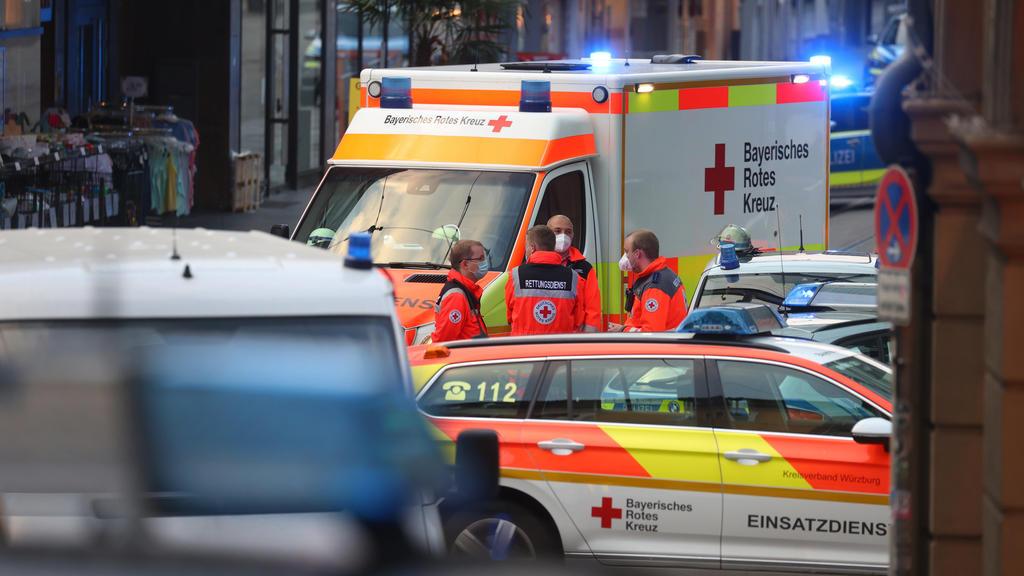 Bei der Messerattacke in der Würzburger Innenstadt wurden zahlreiche Menschen verletzt.