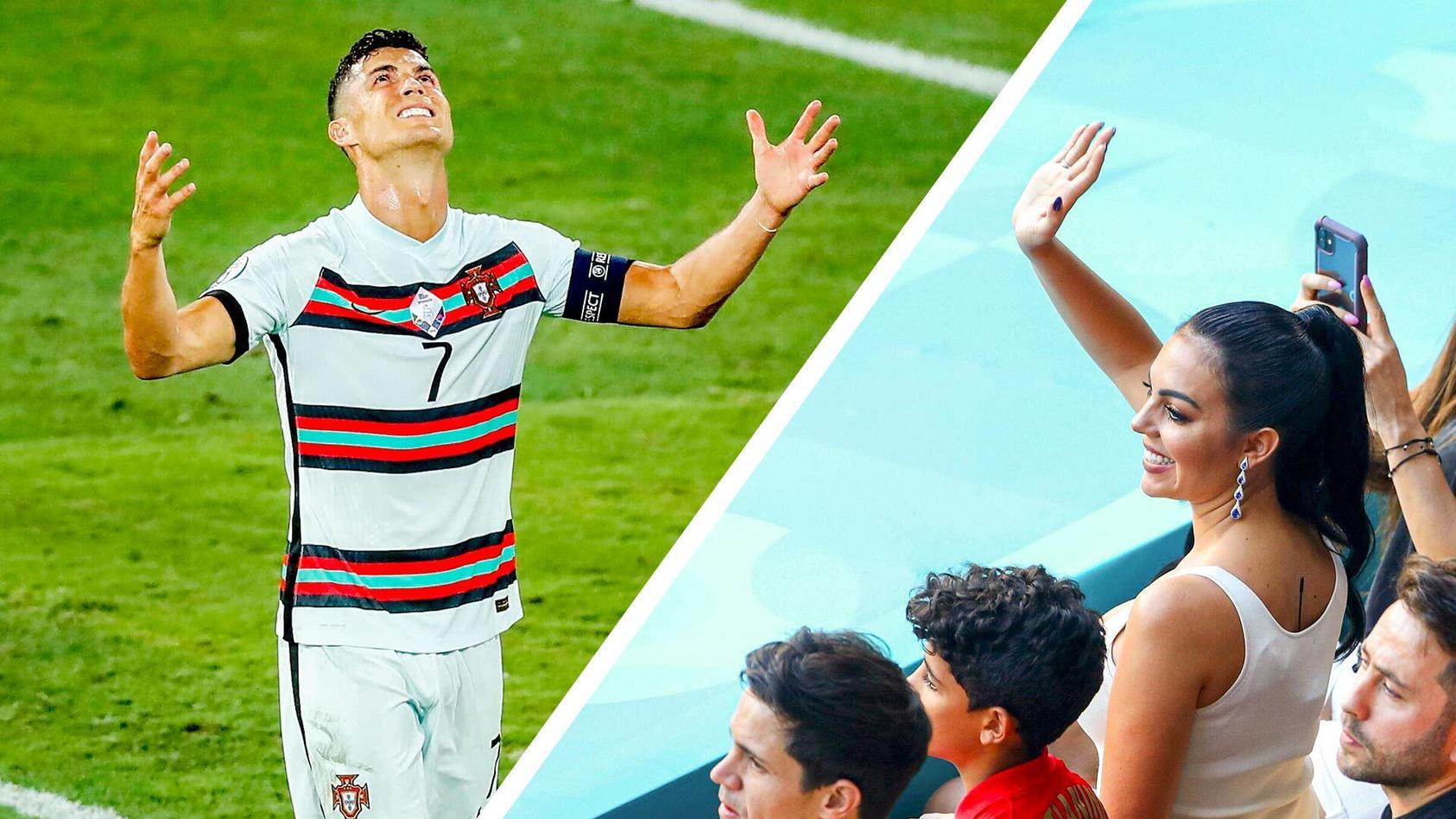Cristiano Ronaldo und seine Lebensgefährtin Georgina Rodriguez.