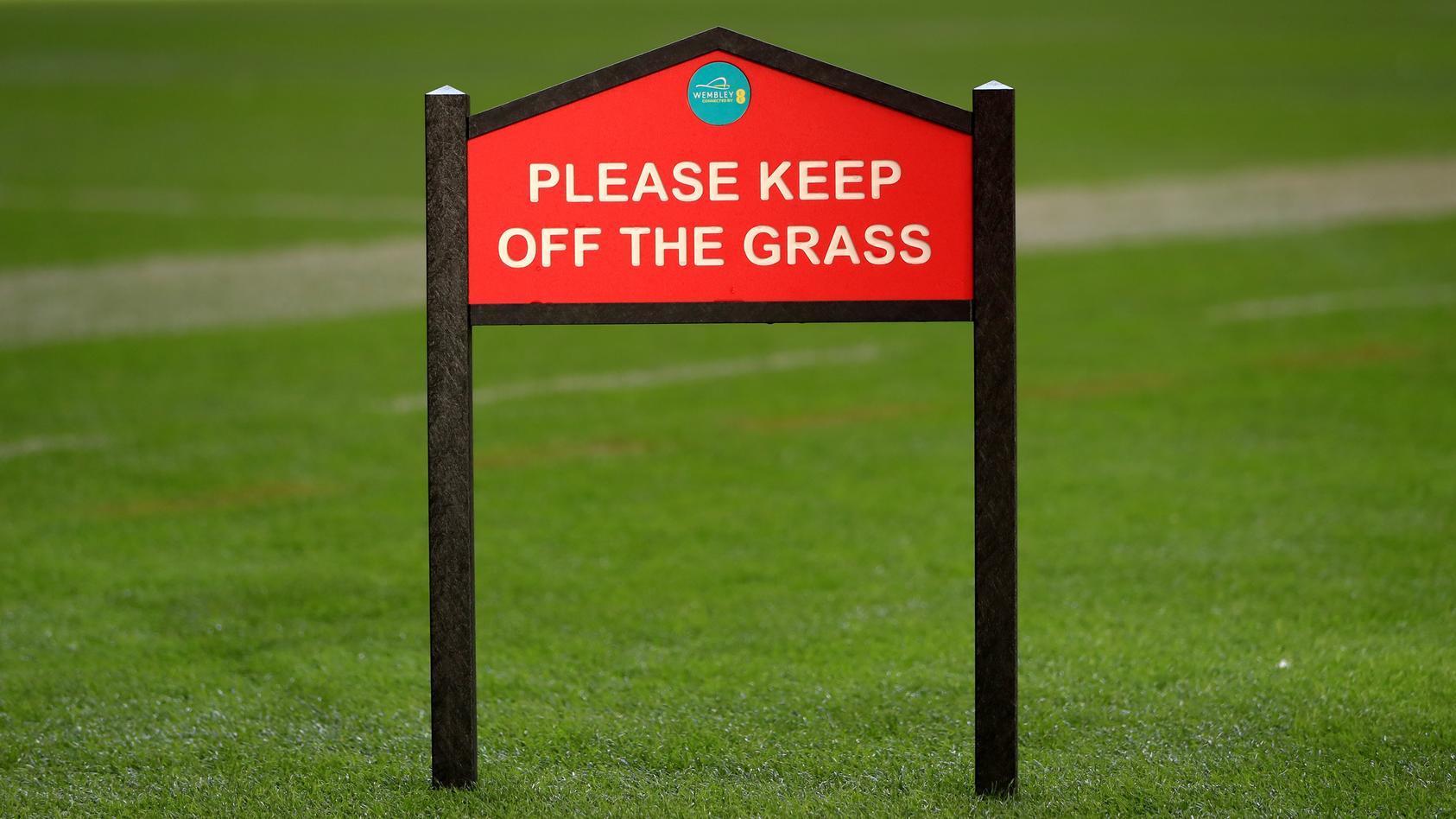 Der heilige Rasen von Wembley