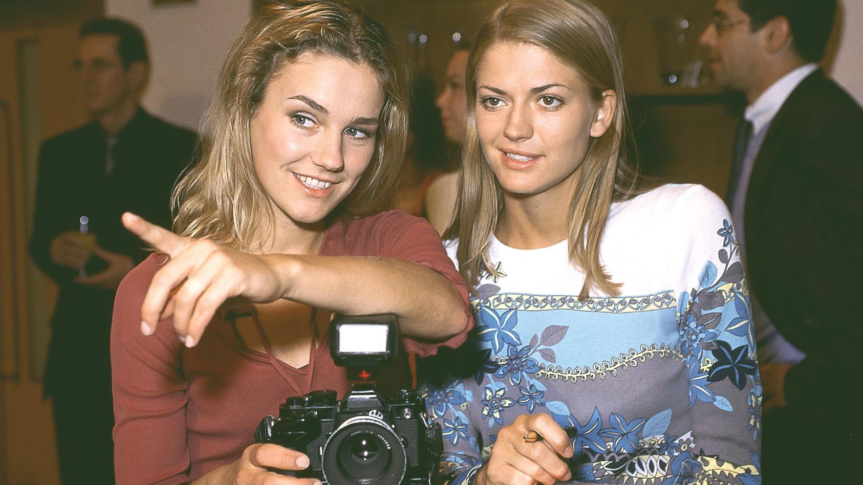 Rhea Harder-Vennewald und Nina Bott standen jahrelang gemeinsam vor der GZSZ-Kamera.