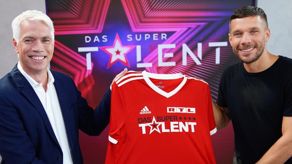 """Transfer-Hammer: Lukas Podolski wird Juror bei """"Das Supertalent"""""""