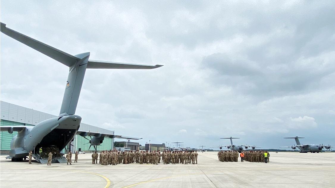 Die letzten Soldaten kehren vom Afghanistan-Einsatz nach Wunstorf zurück.