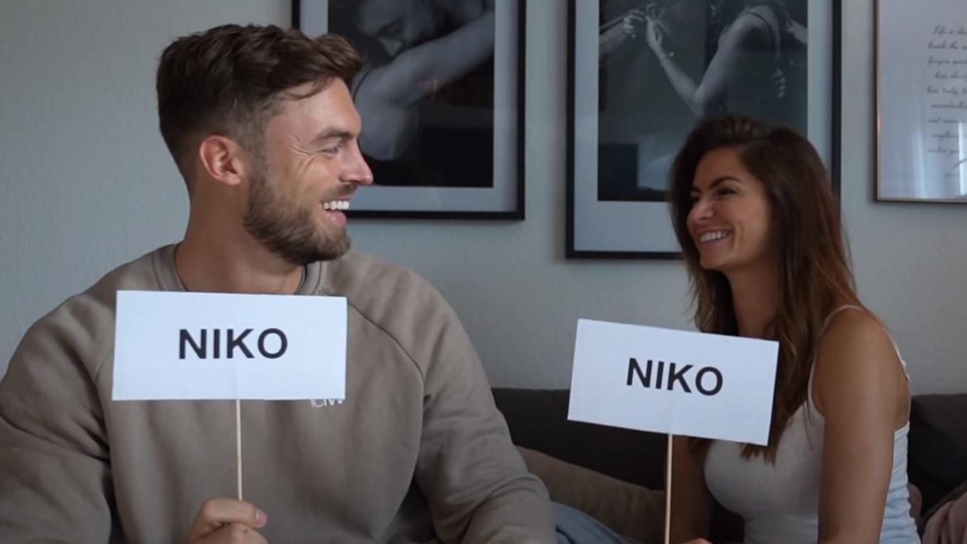 """Niko Griesert und Michèle de Roos spielen """"Wer würde eher...?"""""""