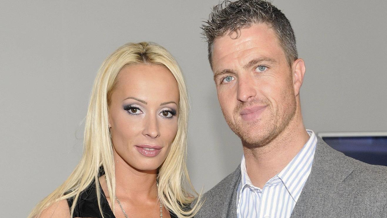 Sie haben sich wieder gern: Cora Schumacher und Ex-Mann Ralf.