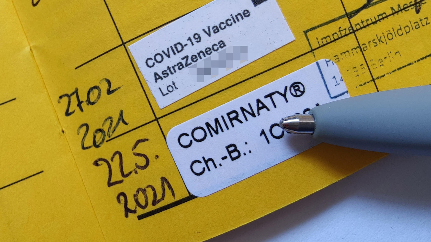 Gemischte Corona-Impfung