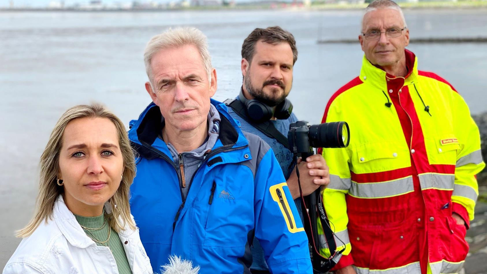 """Gefangen im Meer"": Marlena Busch, Burkhard Kresss, Frank Pastuska & Dieter Sandforth"