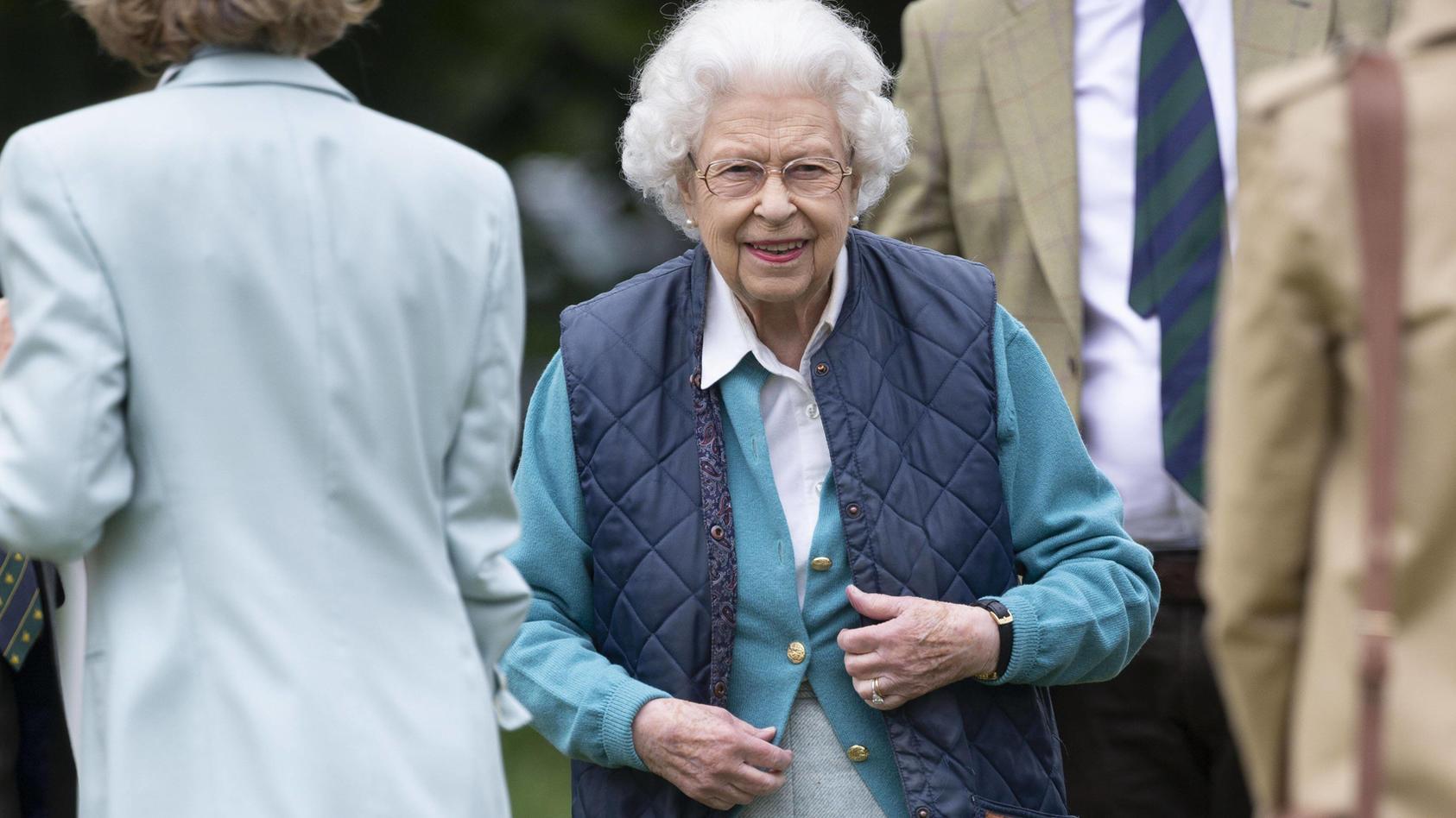 Die Queen bei der Royal Windsor Horse Show.