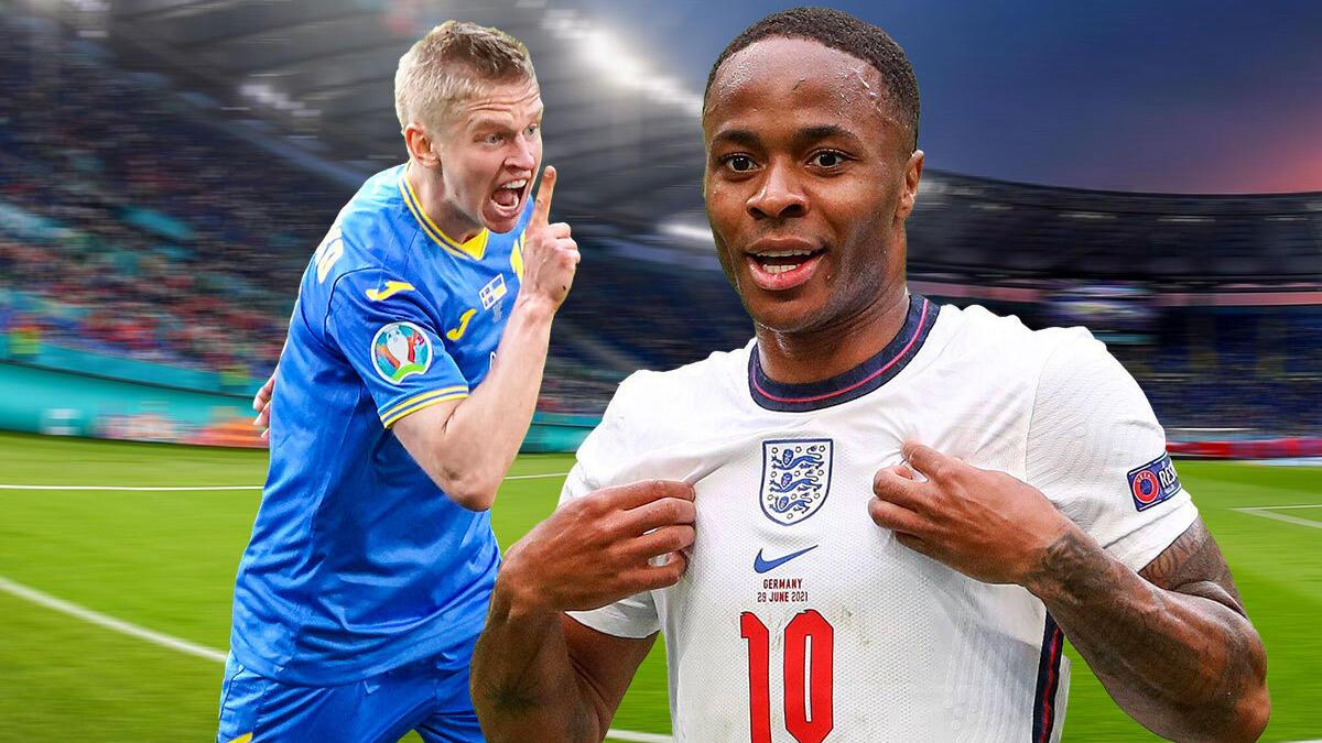 Die Ukraine und England spielen um den letzten Platz im EM-Halbfinale.