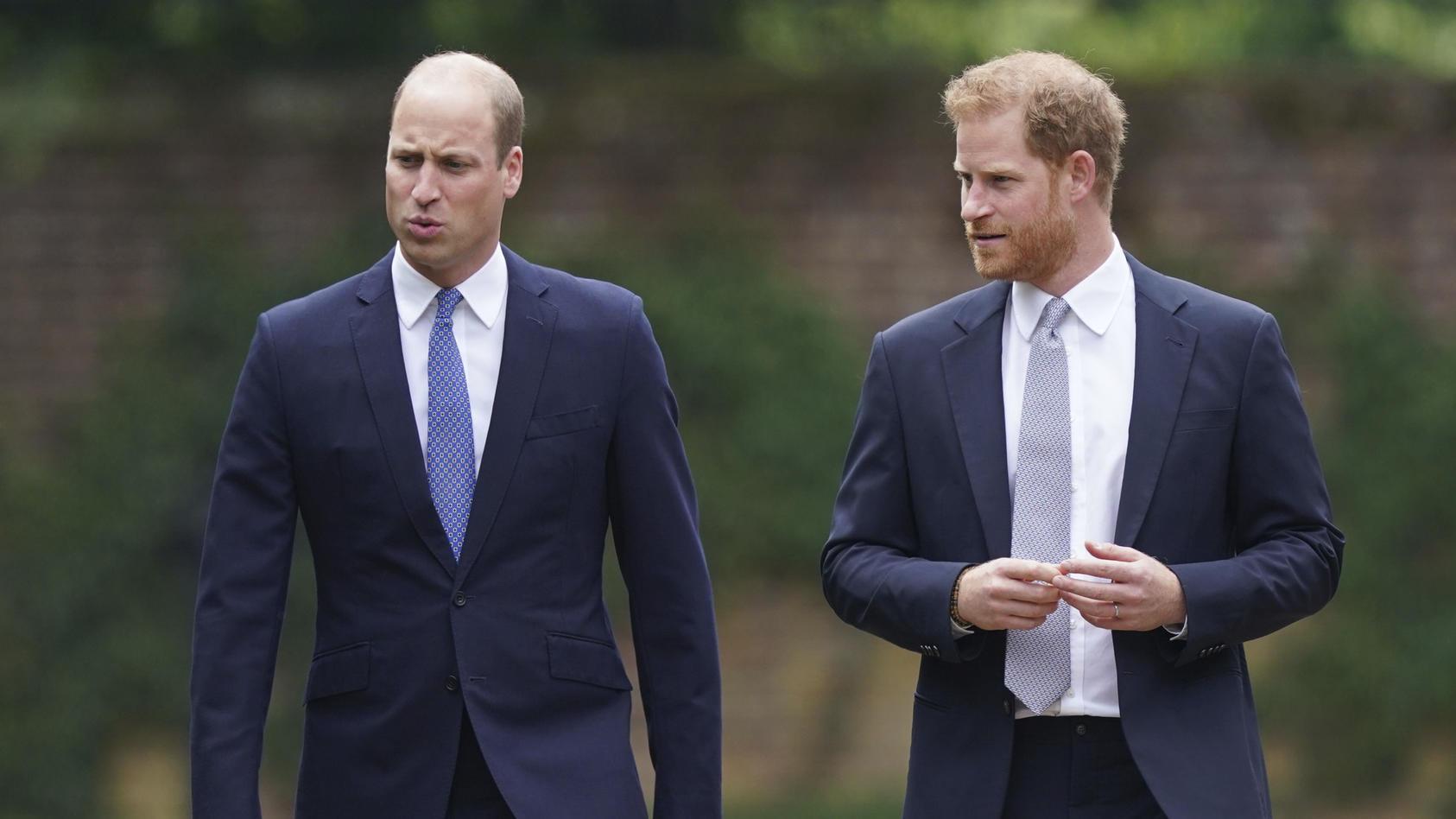 Prinz William und Prinz Harry haben im Juli gemeinsam eine Statue für ihre verstorbene Mutter Diana enthüllt.