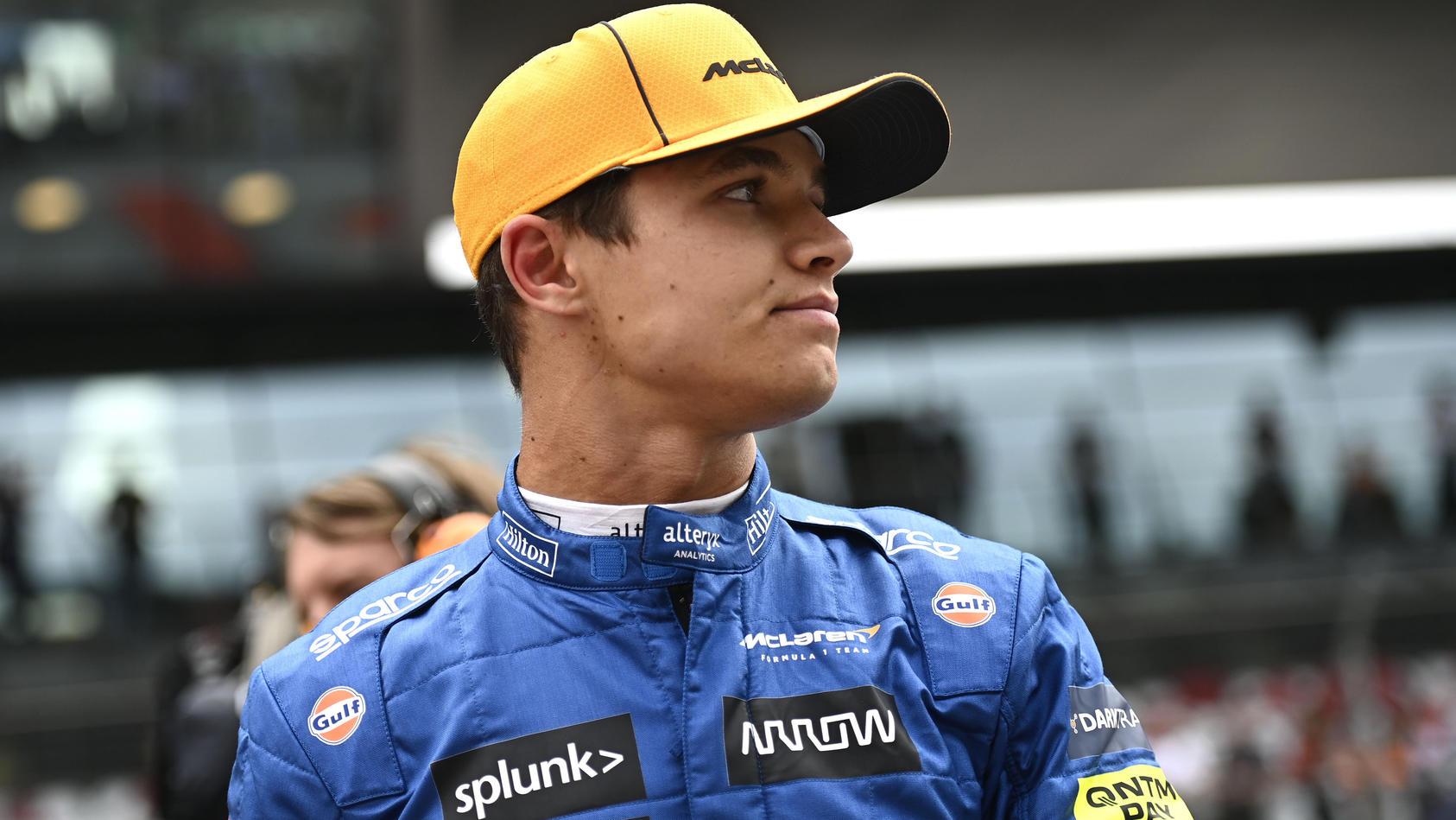Trotz Platz 3 beim Österreich-GP war Lando Norris nicht vollends happy.