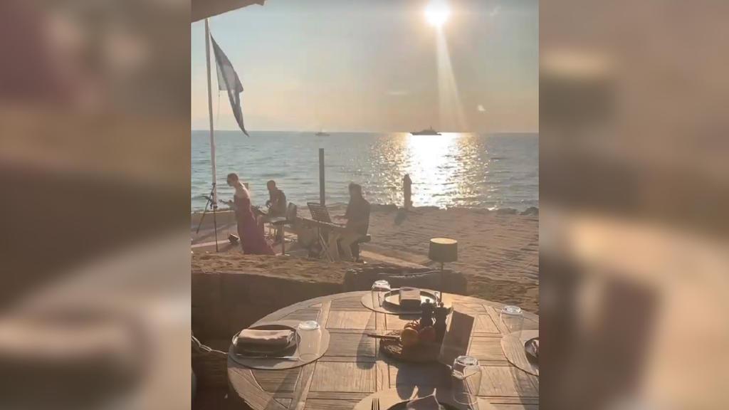 Joshua Kimmichs Freundin Lina Meyer im Urlaub