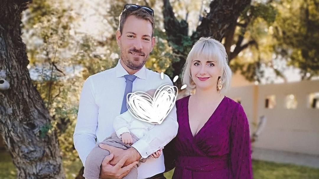 Gerald und Anna Heiser sind im Januar zum ersten Mal Eltern geworden.