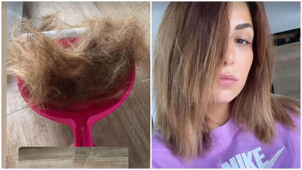 Inci musste nach einer misslungenen Keratin-Behandlung ganz schön Haare lassen.