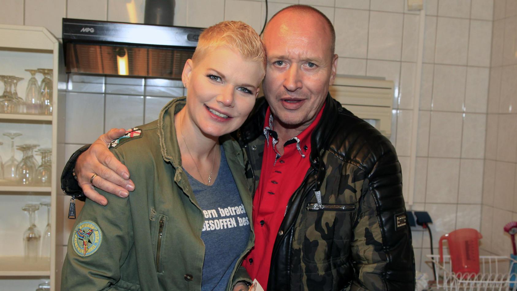 Melanie Müller sorgt sich um Ehemann Mike Blümer.