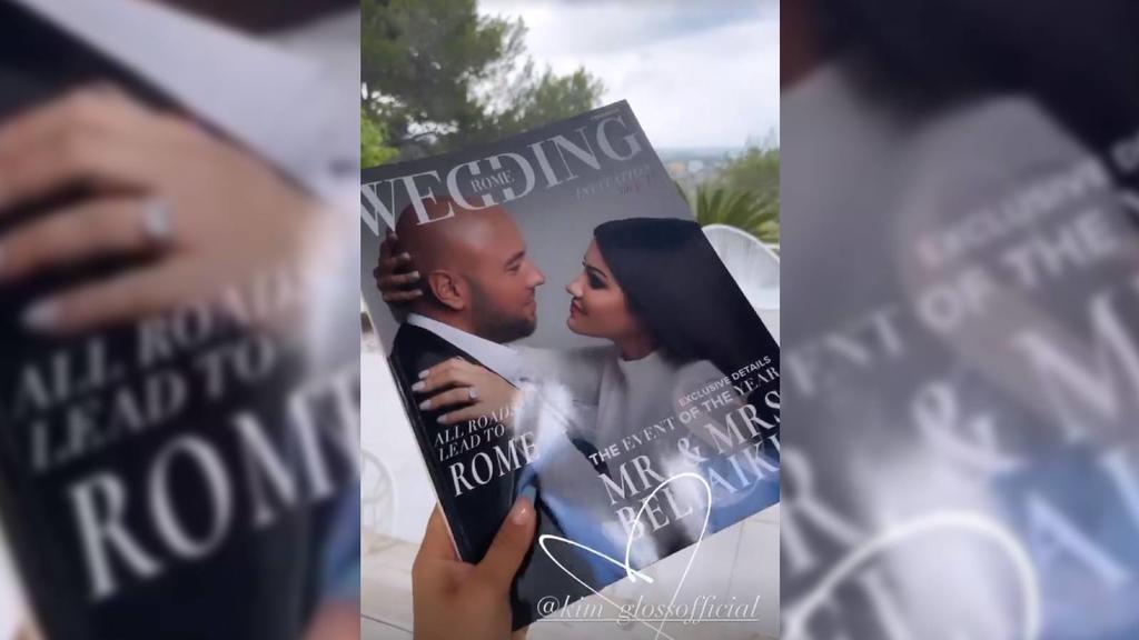 Kim Gloss und ihr Verlobter Alexander Beliaikin werden in Rom heiraten.