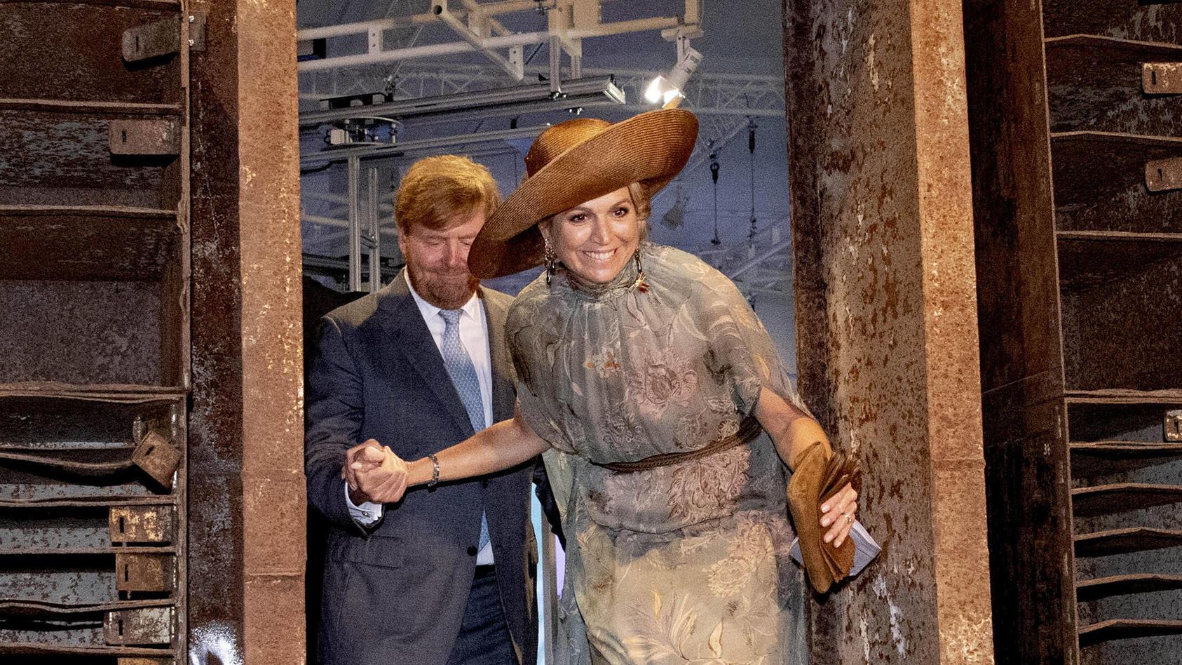 Hier betritt Königin Máxima den Techno-Club Tresor - oder doch nicht?