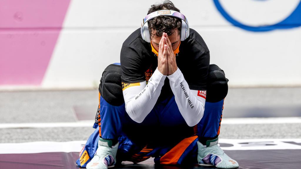 RICCIARDO Daniel aus, McLaren MCL35M, portrait during the Formula 1 Grosser Preis Von Osterreich 2021, 2021 Austrian Grand Prix, 9th round of the 2021 FIA Formula One World Championship, WM, Weltmeisterschaft from July 2 to 4, 2021 on the Red Bull R