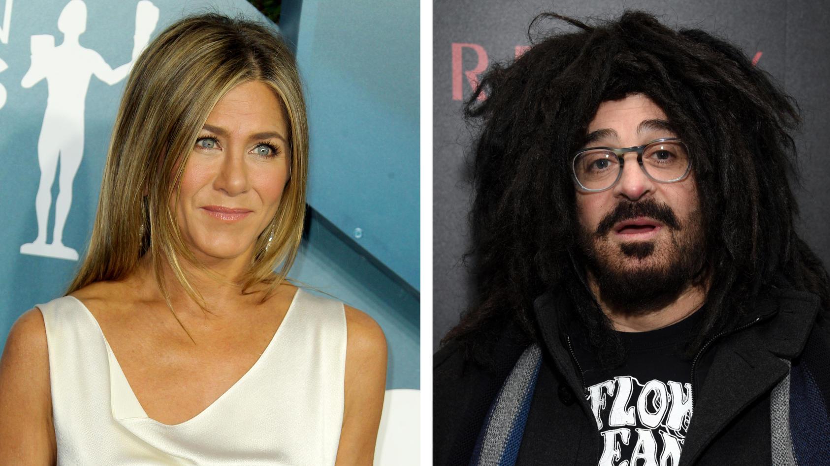 """Jennifer Aniston datete früher den """"Counting Crows""""-Sänger Adam Duritz."""