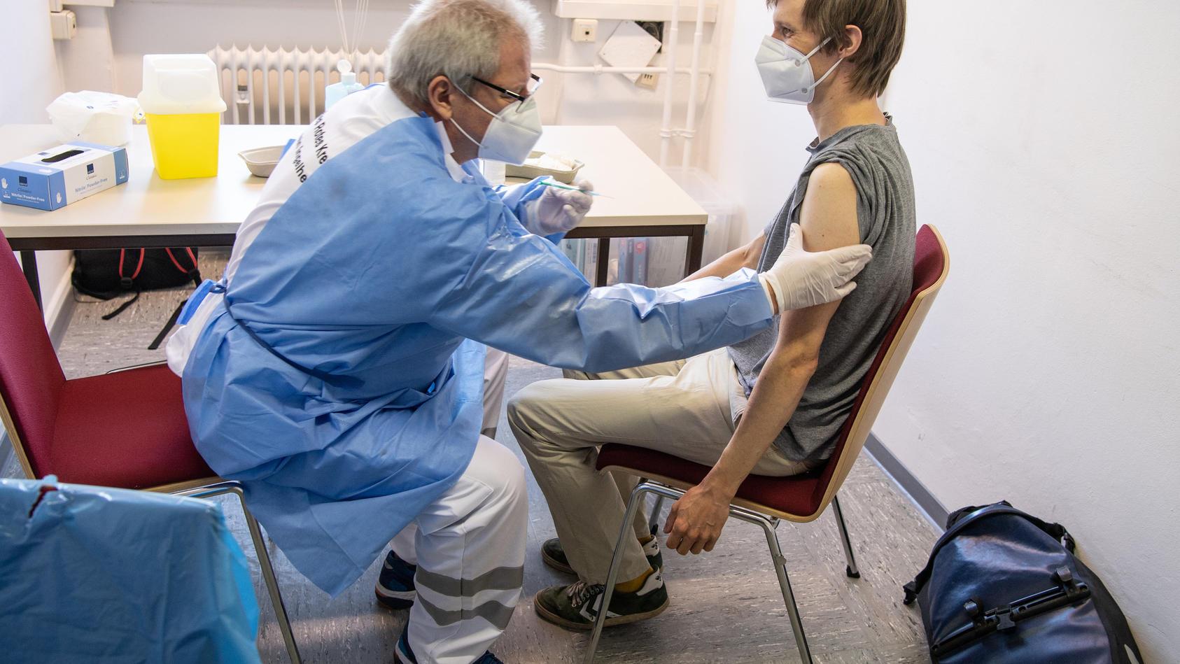 Impfaktion für Studenten in Mainz